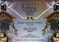 The Helvetia Culture Fest - click for more info
